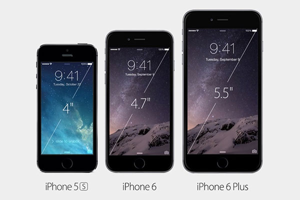Apple iPhone 6 ve iPhone 6 Plus tanıtıldı